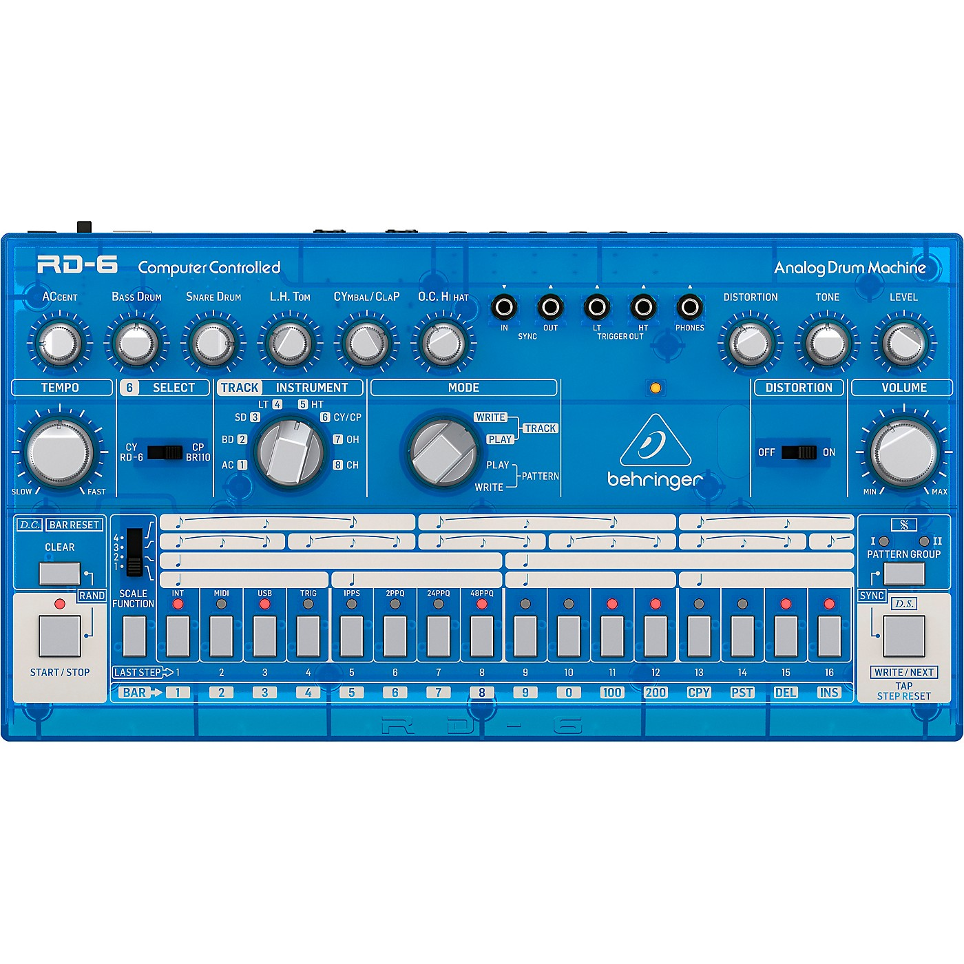Behringer RD-6 Classic Analog Drum Machine thumbnail