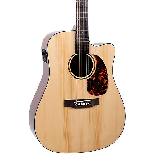 Recording King RD-G6-CFE5 Solid Top Dreadnought Cutaway Acoustic-Electric Guitar thumbnail