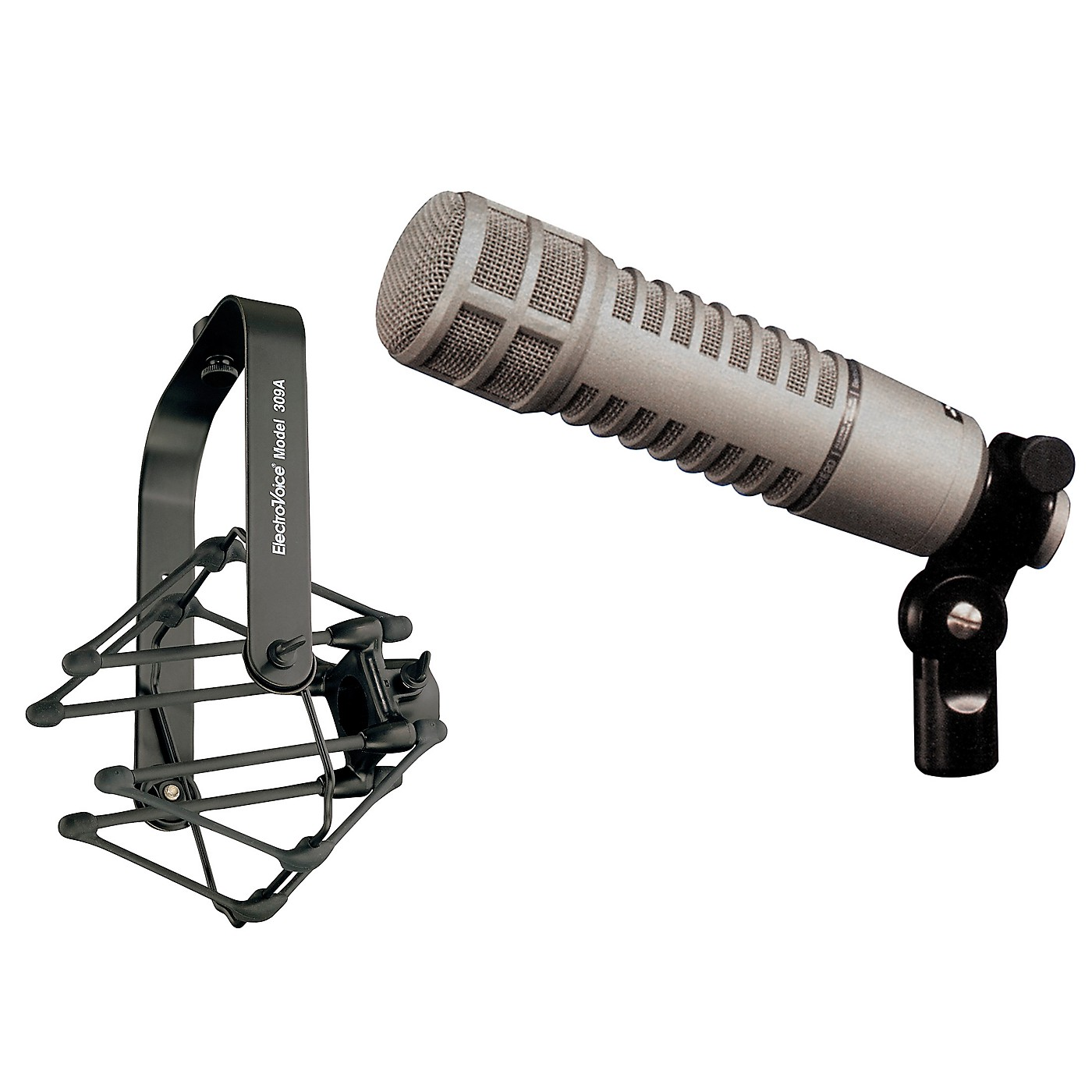 Electro-Voice RE20 Dynamic Cardioid Microphone with 309-A Shock Mount thumbnail