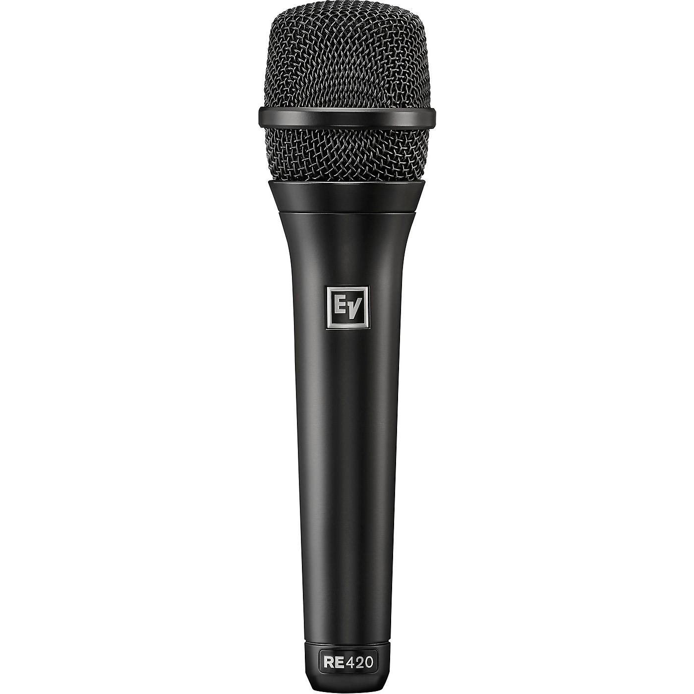 Electro-Voice RE420 Premium Condenser Cardioid Vocal Microphones thumbnail