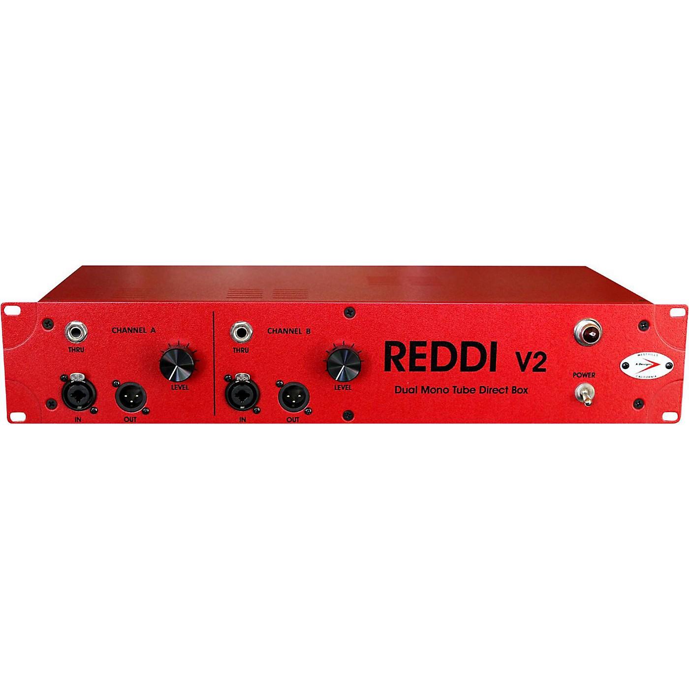 A Designs REDDI V2 Dual Mono Tube Direct Box thumbnail