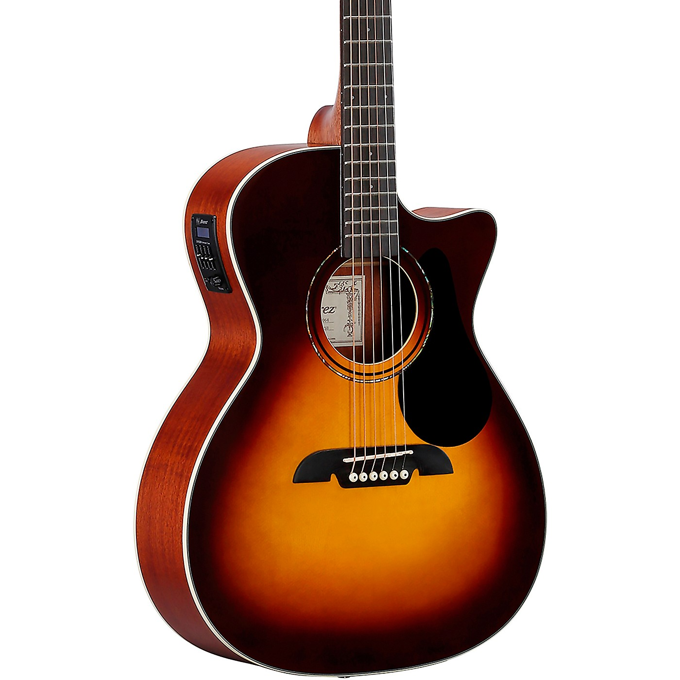 Alvarez RG260CE Regent Series Grand Auditorium Acoustic-Electric Guitar thumbnail