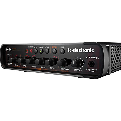 TC Electronic RH450 Bass Amp Head thumbnail