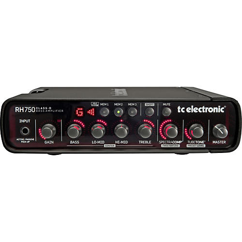 TC Electronic RH750 750W Bass Amp Head thumbnail