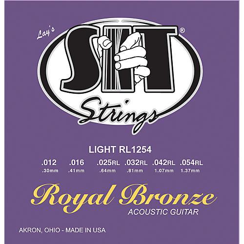 SIT Strings RL1254 Light Royal Bronze Acoustic Guitar Strings-thumbnail