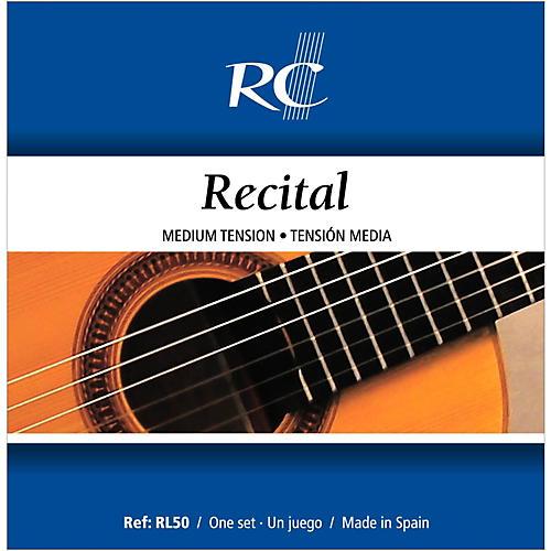 RC Strings RL50 Recital Medium Tension Nylon Guitar Strings thumbnail