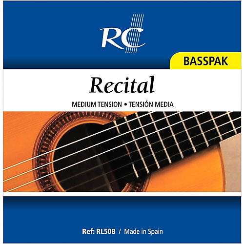 RC Strings RL50B Recital Basspak - Medium Tension 4th, 5th and 6th strings for Nylon String Guitar thumbnail
