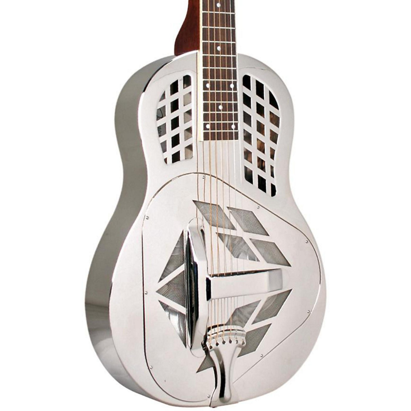 Recording King RM-991-S Tricone Metal Body Resonator Guitar with Squareneck thumbnail