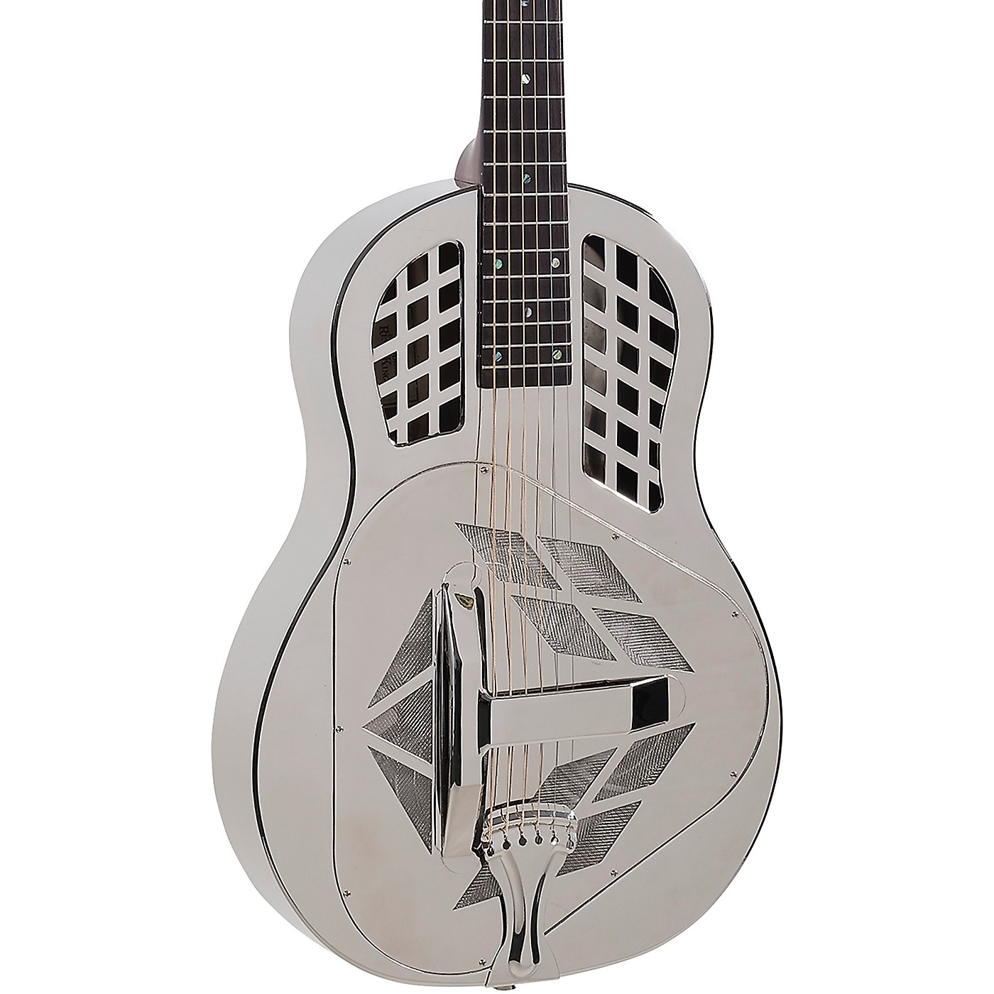 Recording King RM-991 Tricone Resonator Guitar with Roundneck thumbnail