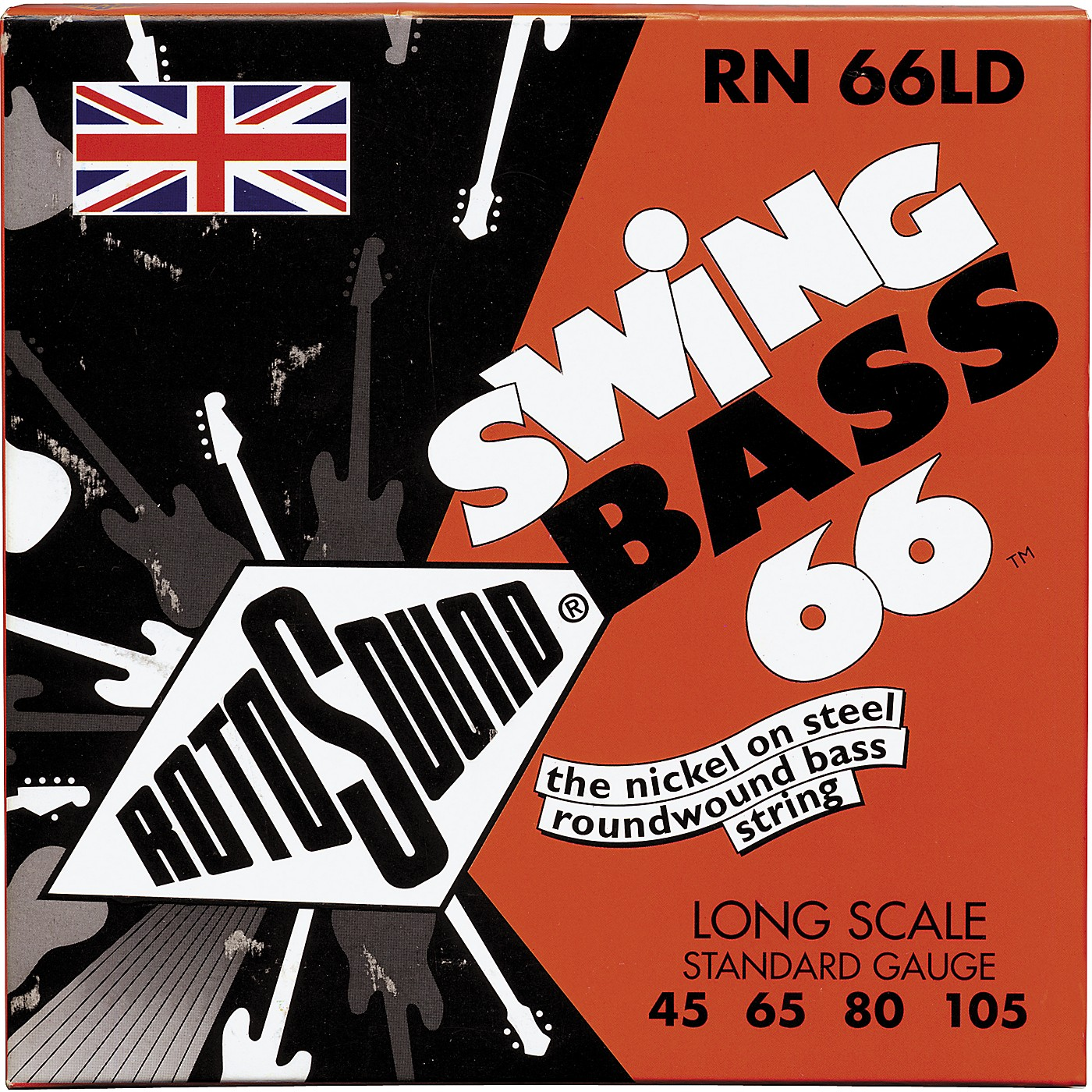 Rotosound RN 66LD Nickel Swing Bass Strings thumbnail