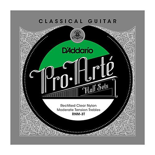 D'Addario RNM-3T Pro-Arte Moderate Tension Classical Guitar Strings Half Set thumbnail