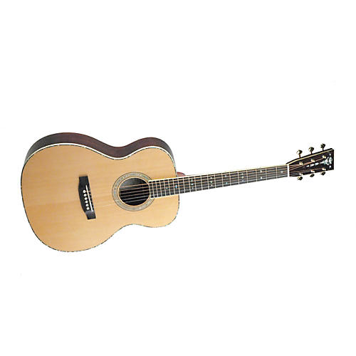 Recording King RO-227 All Solid Wood Orchestra Acoustic Guitar-thumbnail