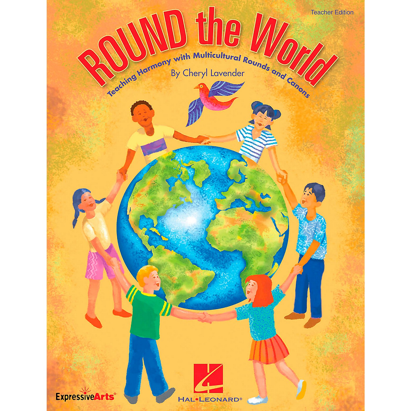 Hal Leonard ROUND The World - Teaching Harmony Multicultural Rounds And Canons, Teacher's Edition thumbnail