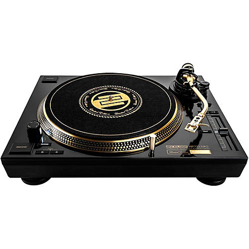 Reloop RP-7000 MK2 GLD Limited Edition Gold Turntable thumbnail