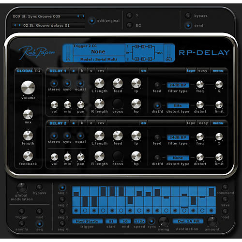 Rob Papen RP-Delay Plug-In Software Download thumbnail