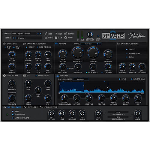 Rob Papen RP-VERB 2 and RP-Delay thumbnail