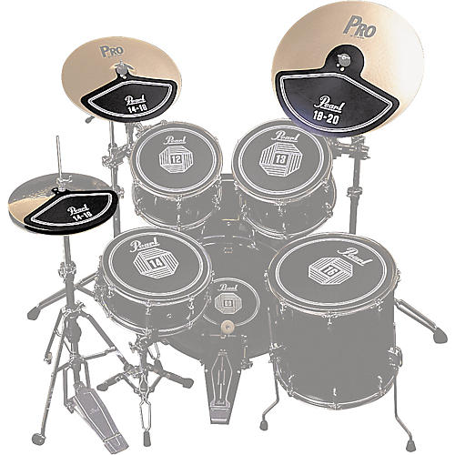 Pearl RP40C Rubber Cymbal Pad Set thumbnail