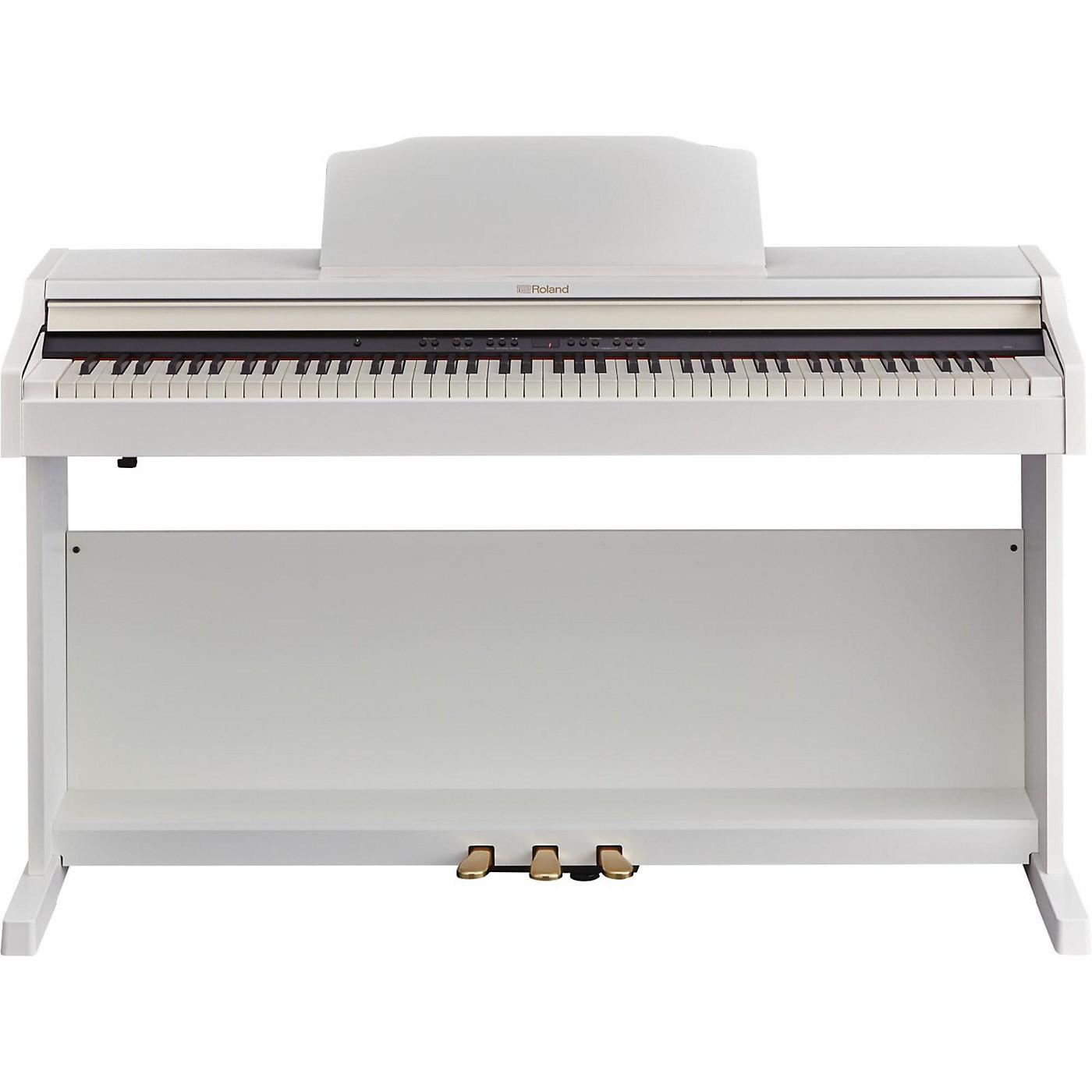 Roland RP501R Digital Home Piano White thumbnail