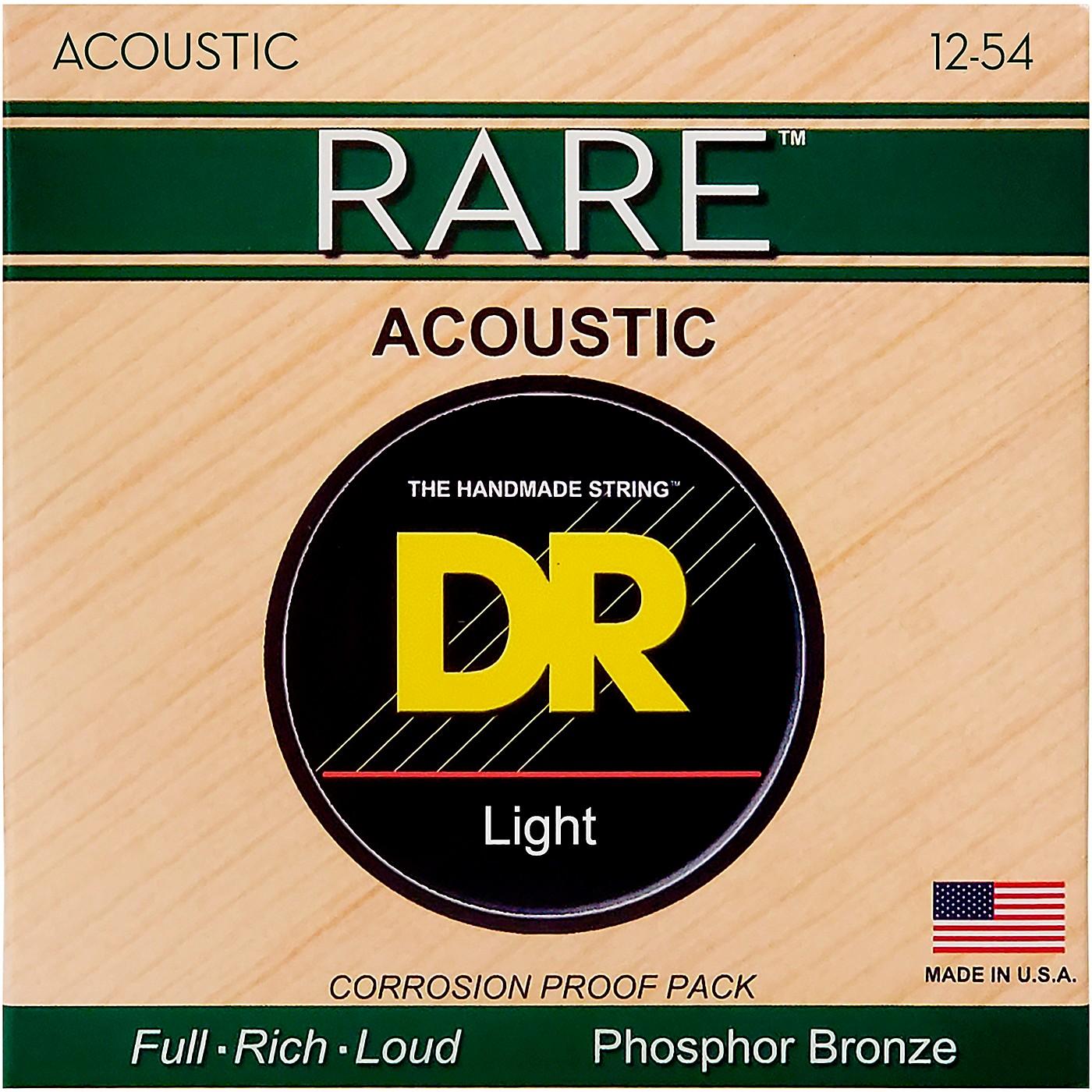 DR Strings RPM-12 Light RARE Phosphor Bronze Acoustic Guitar Strings thumbnail