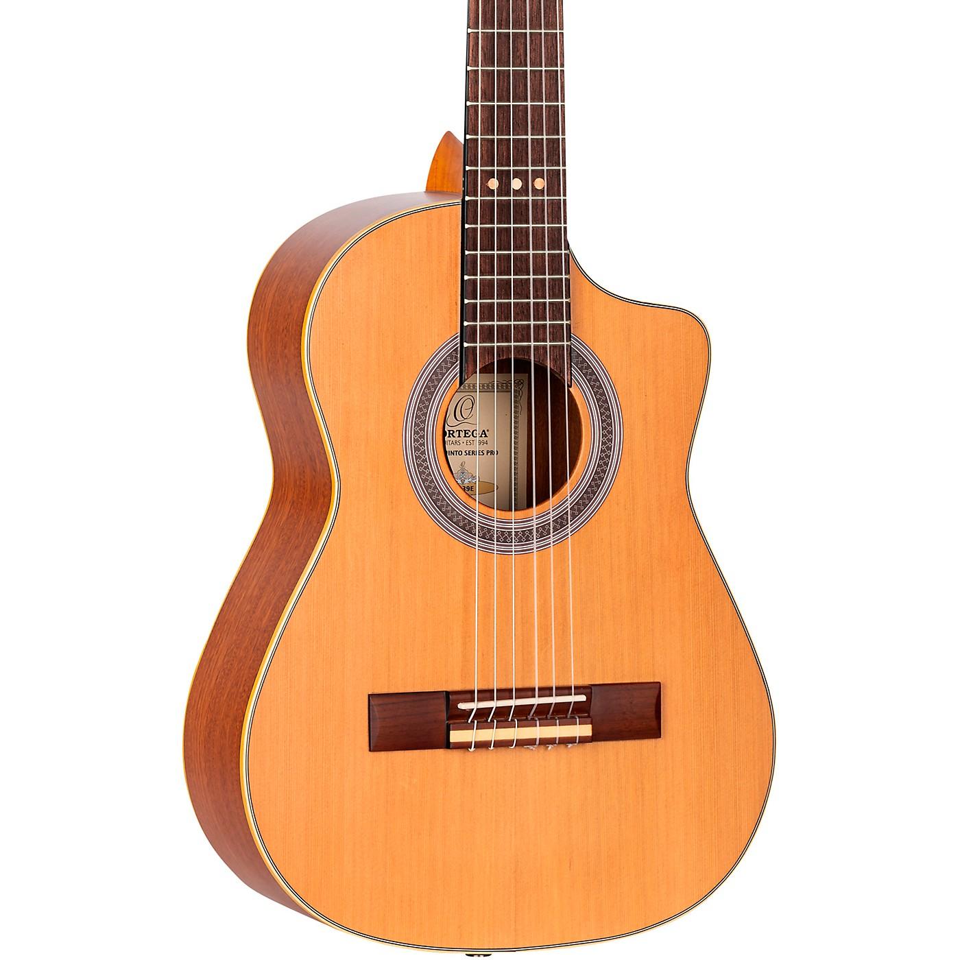 Ortega RQ39E Requinto Acoustic-Electric Guitar thumbnail