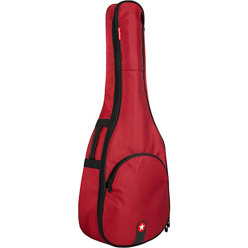 Road Runner RR1AGR Avenue Series Red Tweed Acoustic Guitar Gig Bag thumbnail