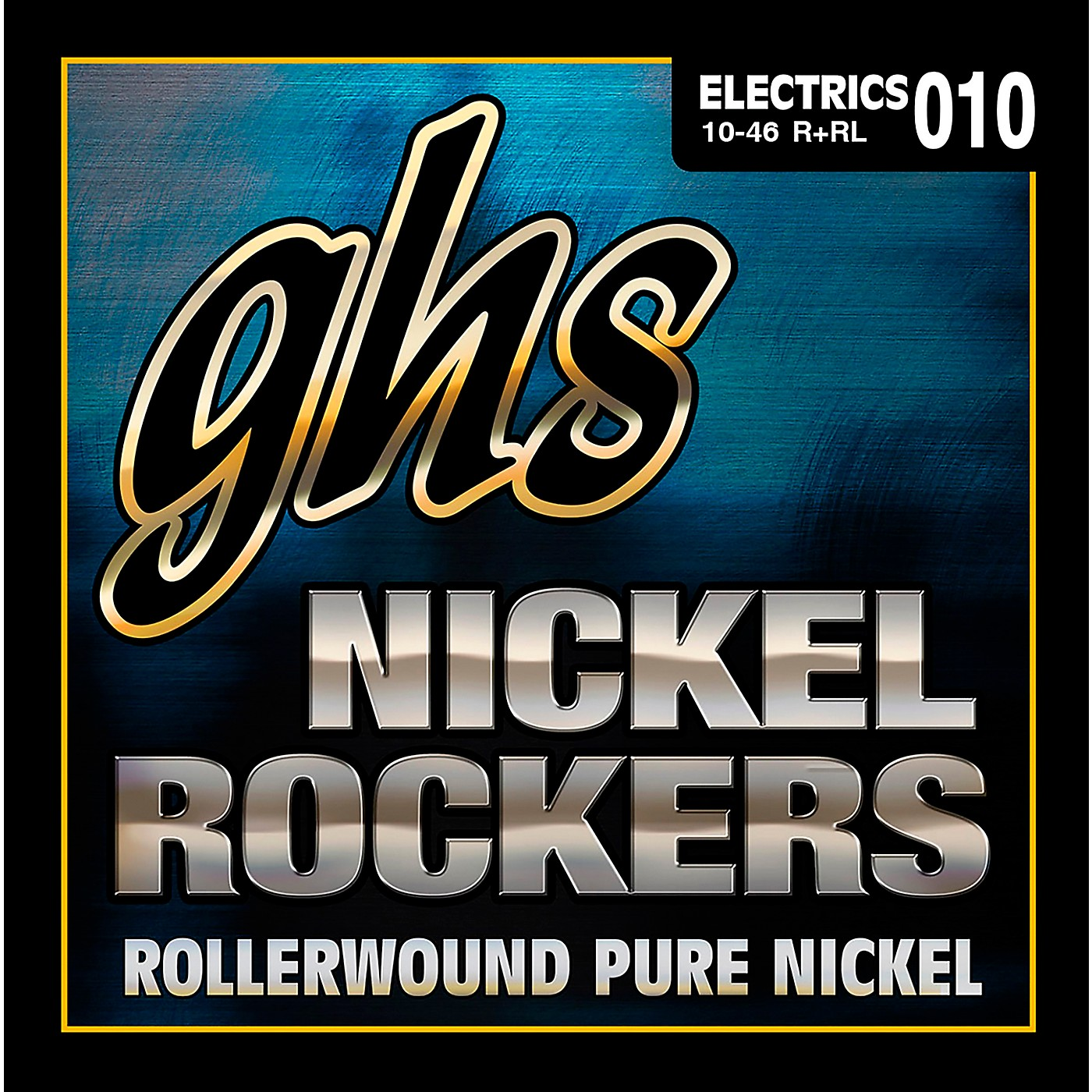 GHS R+RL Nickel Rockers Roundwound Light Electric Guitar Strings thumbnail
