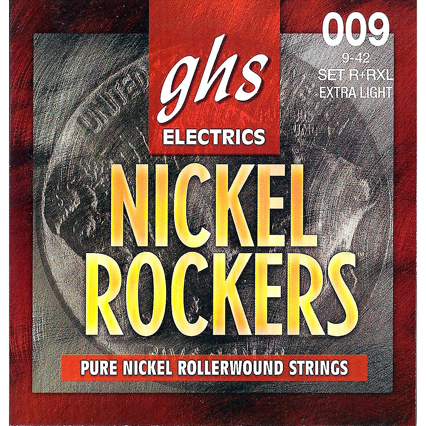 GHS R+RXL Nickel Rockers Roundwound Extra Light Electric Guitar Strings thumbnail