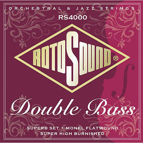 Rotosound RS4000 Superb 3/4 Size Double Bass Strings thumbnail