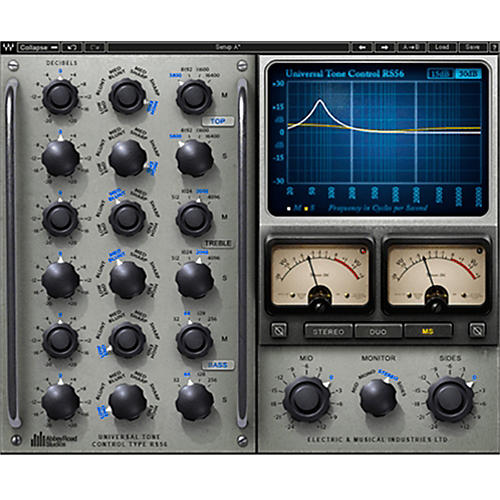 Waves RS56 Passive EQ Native/SG Software Download thumbnail