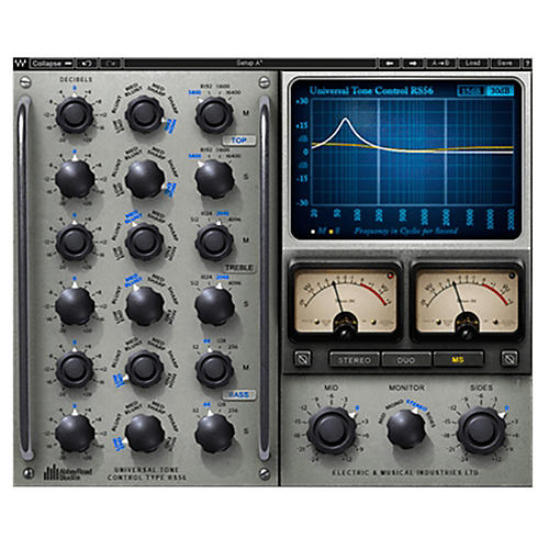 Waves RS56 Passive Equalizer Native Software Download thumbnail