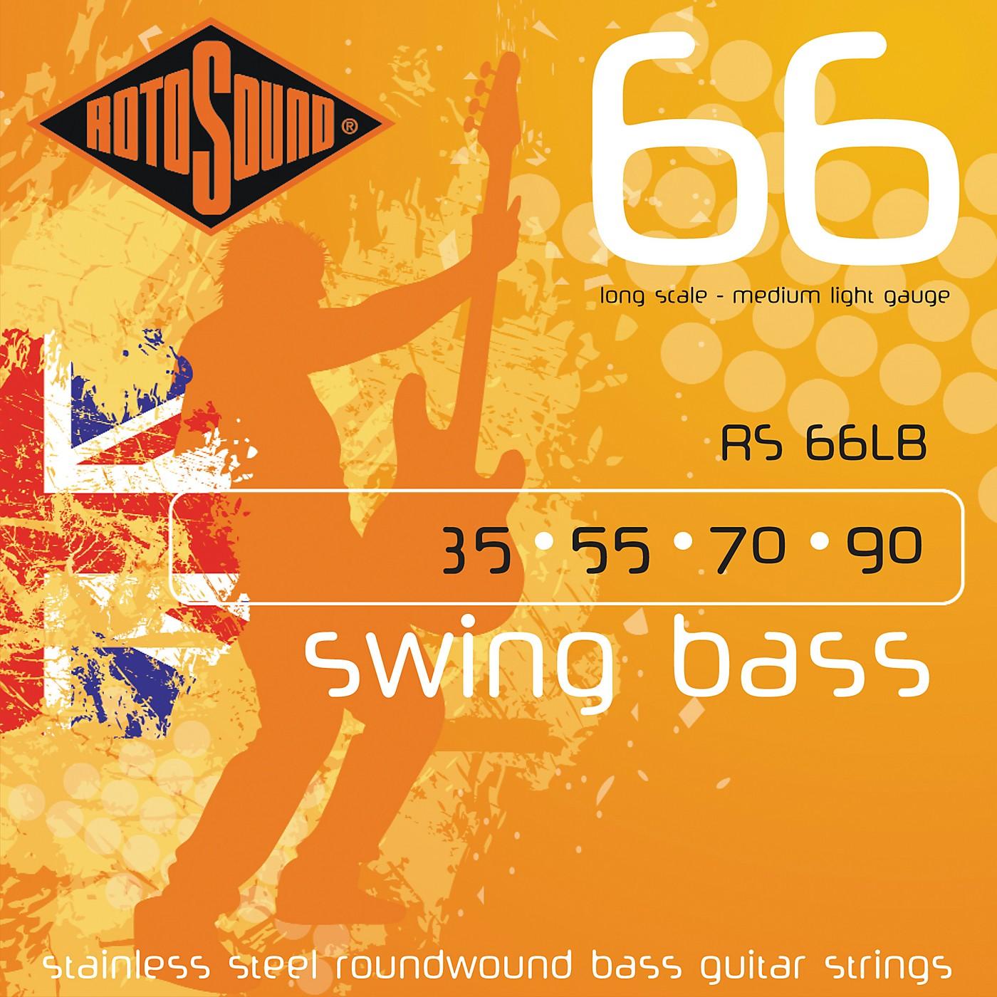 Rotosound RS66LB Medium Light Long Scale Bass Strings thumbnail