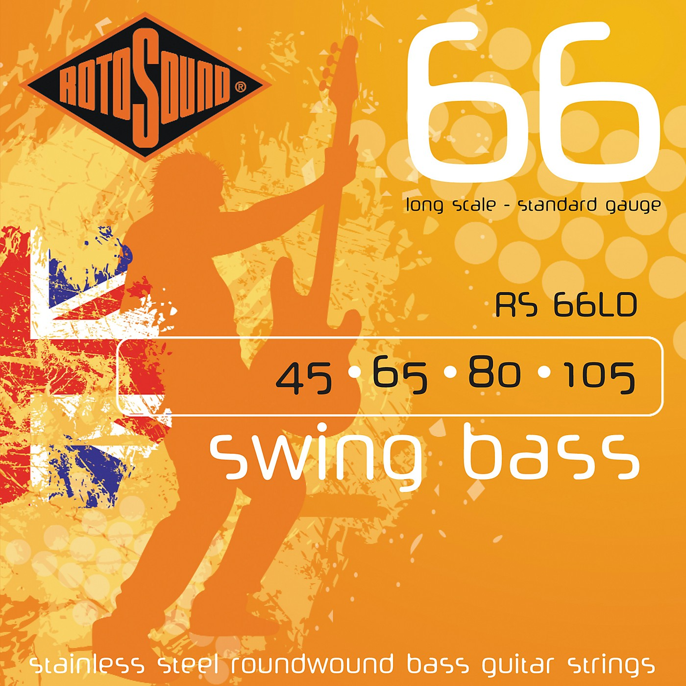 Rotosound RS66LD Long Scale Swing 66 Bass Strings thumbnail