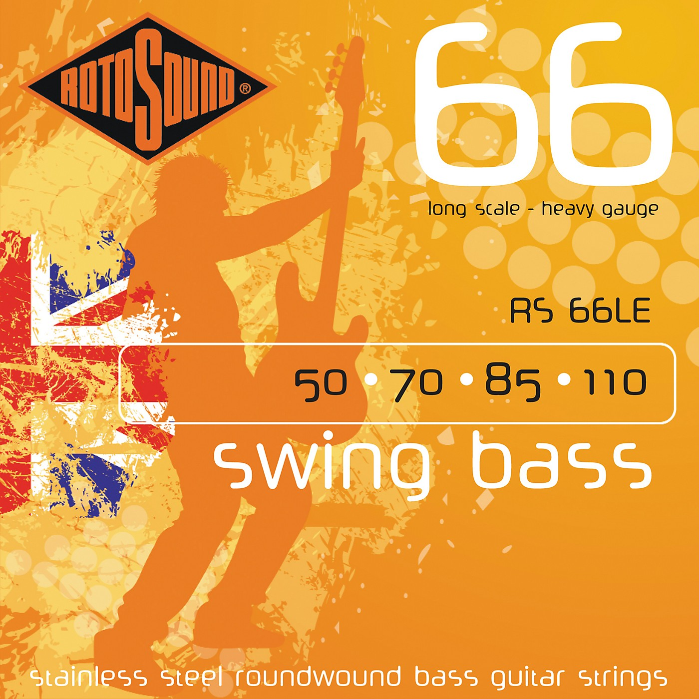 Rotosound RS66LE Heavy Long Scale Bass Strings thumbnail