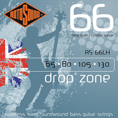 Rotosound RS66LH Bass Strings Long Scale thumbnail