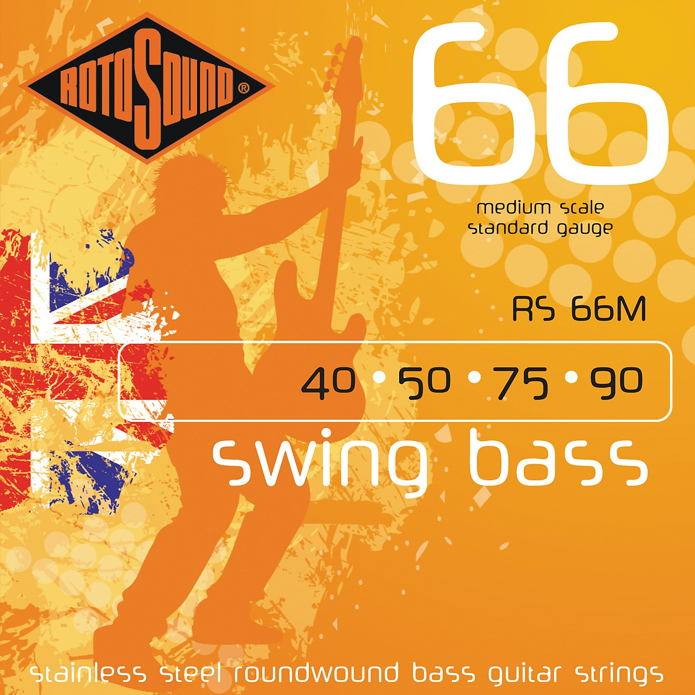 Rotosound RS66M Medium Scale Bass Strings thumbnail