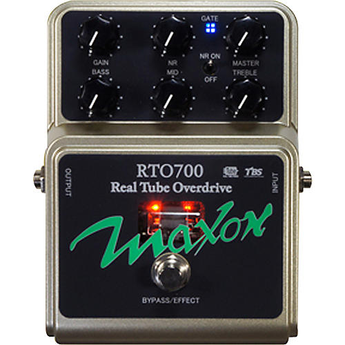 Maxon RTO700 Real Tube Overdrive Guitar Effects Pedal-thumbnail