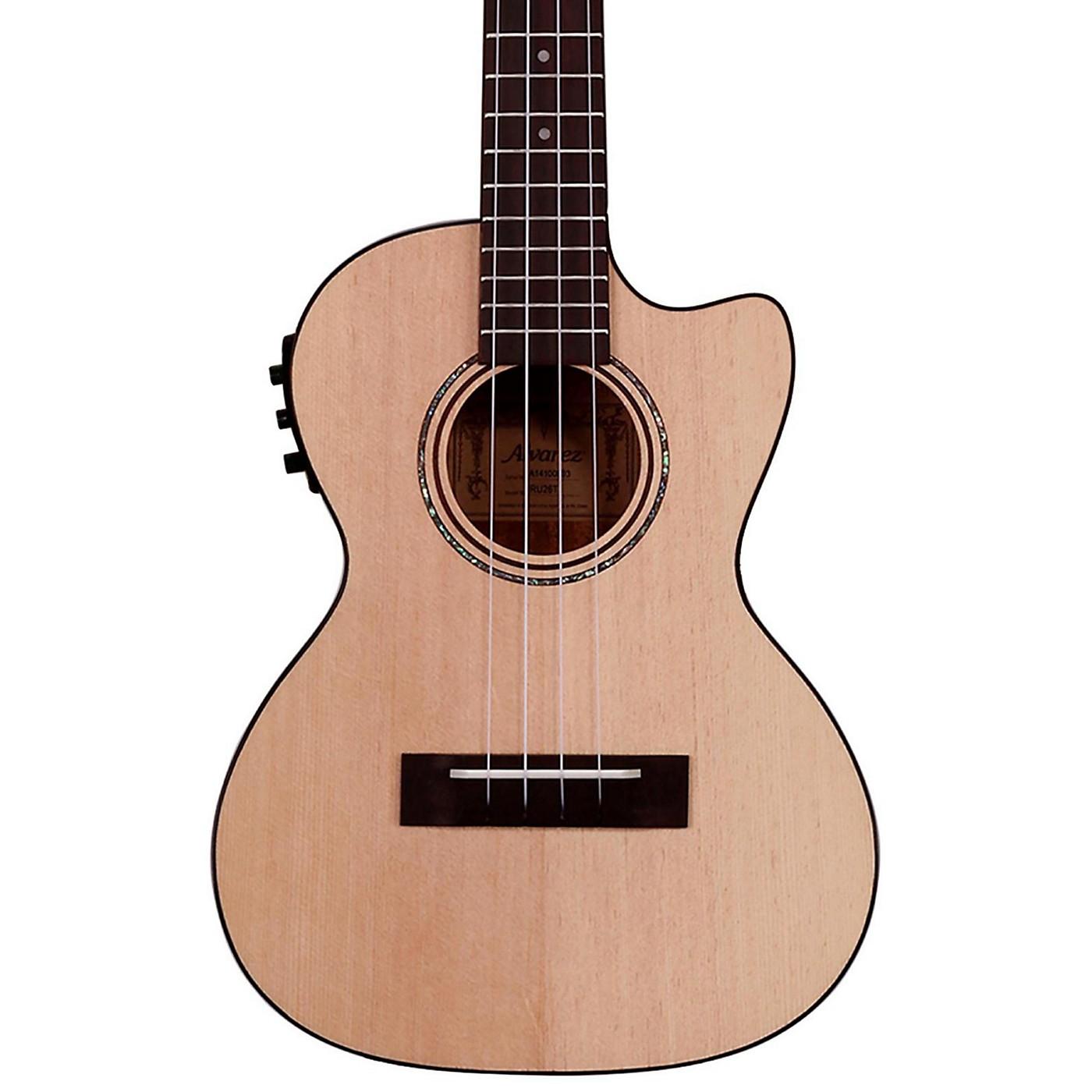 Alvarez RU26TCE Tenor Acoustic-Electric Ukulele thumbnail