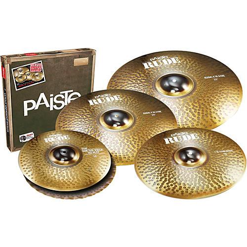 Paiste RUDE Big Sound Cymbal Set thumbnail