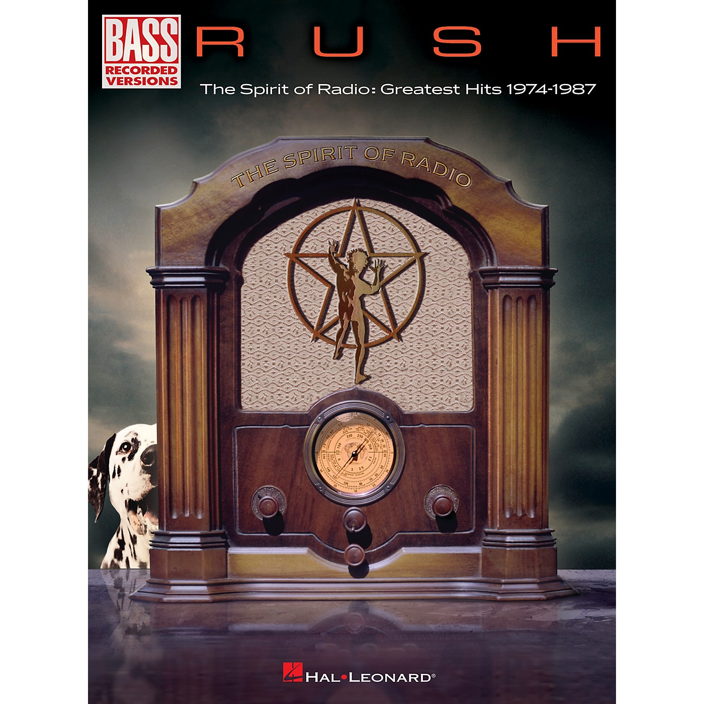 Hal Leonard RUSH - The Spirit Of Radio: Greatest Hits 1974 - 1987 Bass Guitar Tab Songbook thumbnail