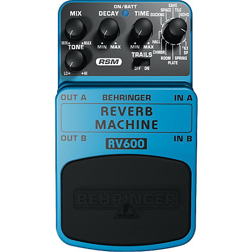 Behringer RV600 Reverb Machine Modeling Effects Pedal thumbnail