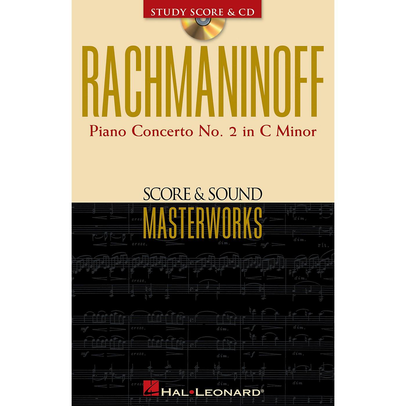 Hal Leonard Rachmaninoff - Piano Concerto No. 2 in C Minor Study Score with CD by Sergei Rachmaninoff thumbnail