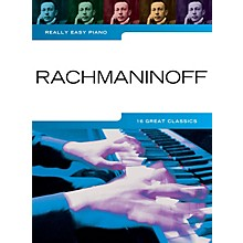 Music Sales Rachmaninoff - Really Easy Piano Music Sales America Series Softcover