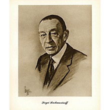 Music Sales Rachmaninov (Lupas Large Portrait Poster) Music Sales America Series