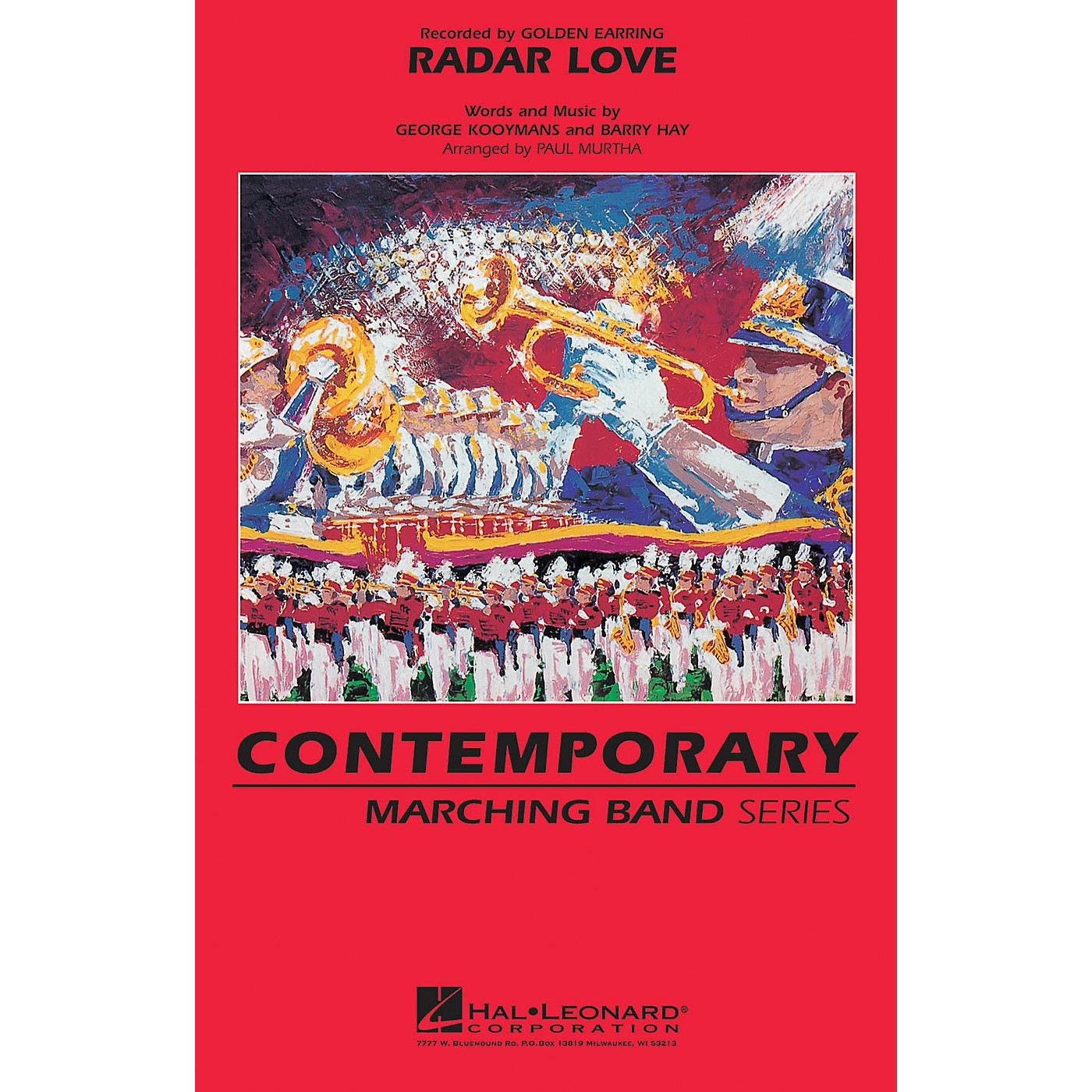 Hal Leonard Radar Love Marching Band Level 3 by Golden Earring Arranged by Paul Murtha thumbnail