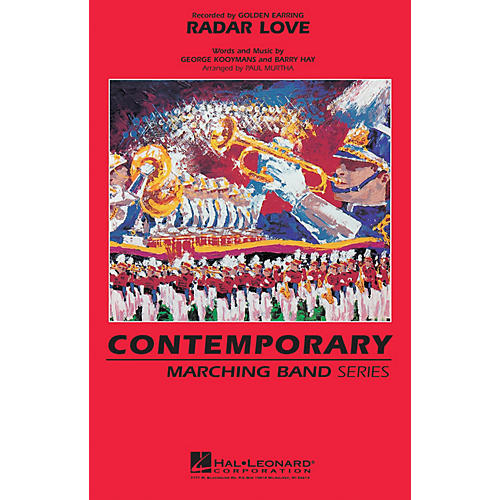 Hal Leonard Radar Love Marching Band Level 3 by Golden Earring Arranged by Paul Murtha thumbnail
