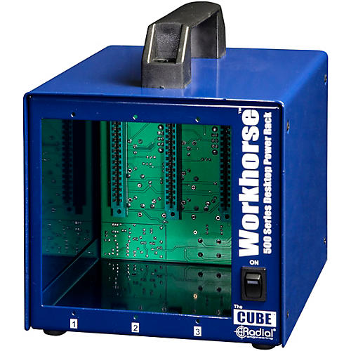 Radial Engineering Radial Workhorse Cube Desktop Power Rack thumbnail