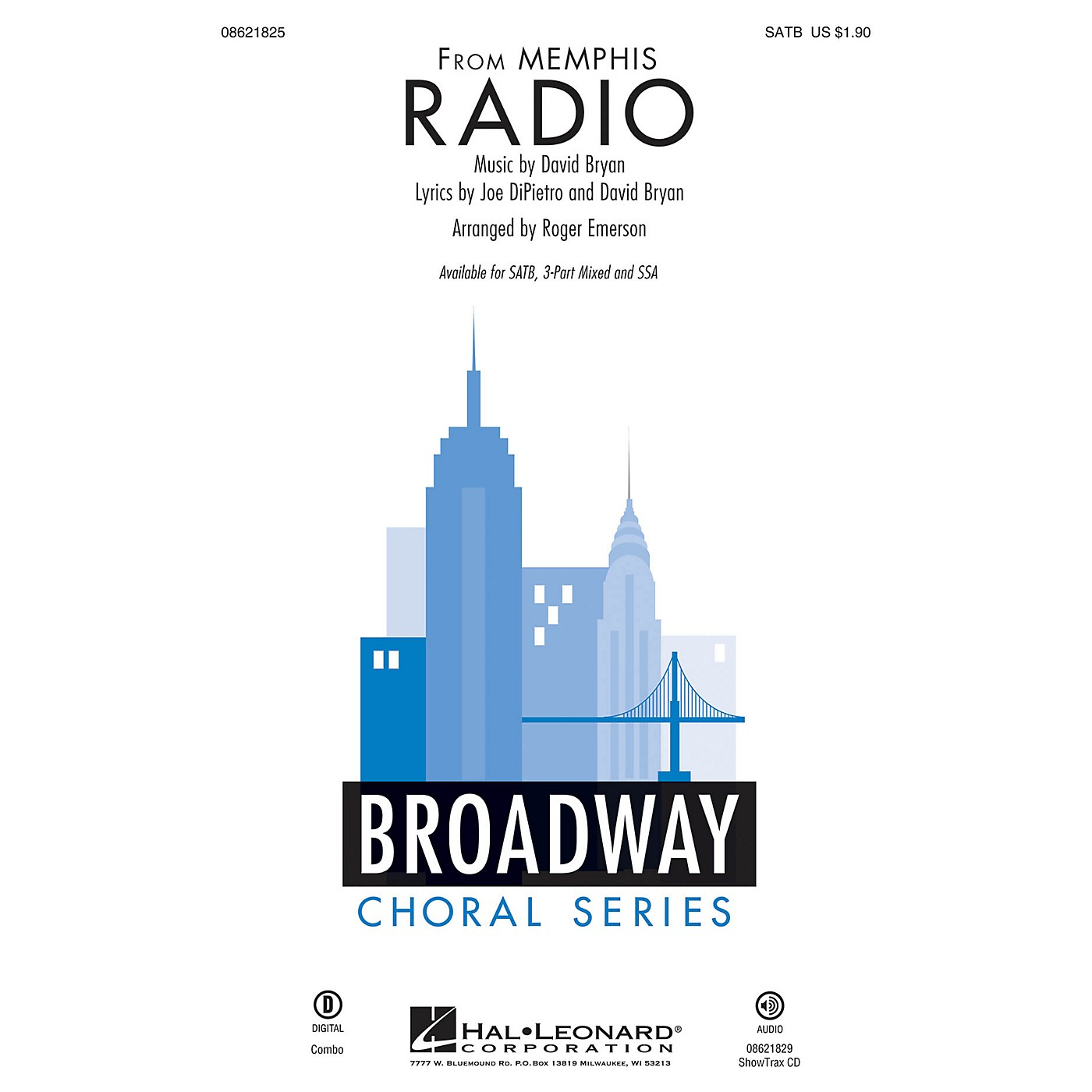 Hal Leonard Radio (from Memphis) 3-Part Mixed Arranged by Roger Emerson thumbnail