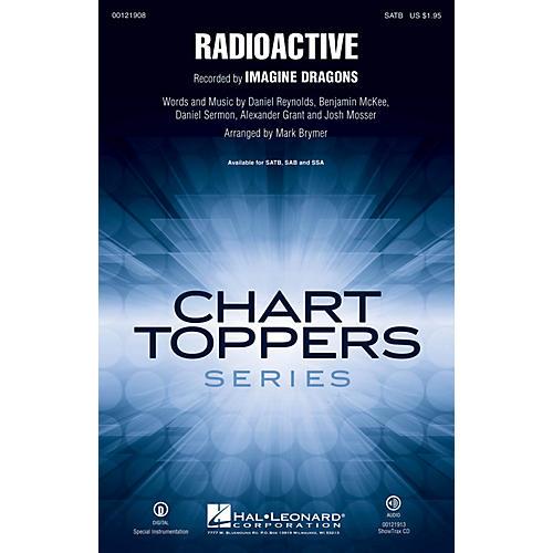 Hal Leonard Radioactive SSAA by Imagine Dragons Arranged by Mark Brymer thumbnail