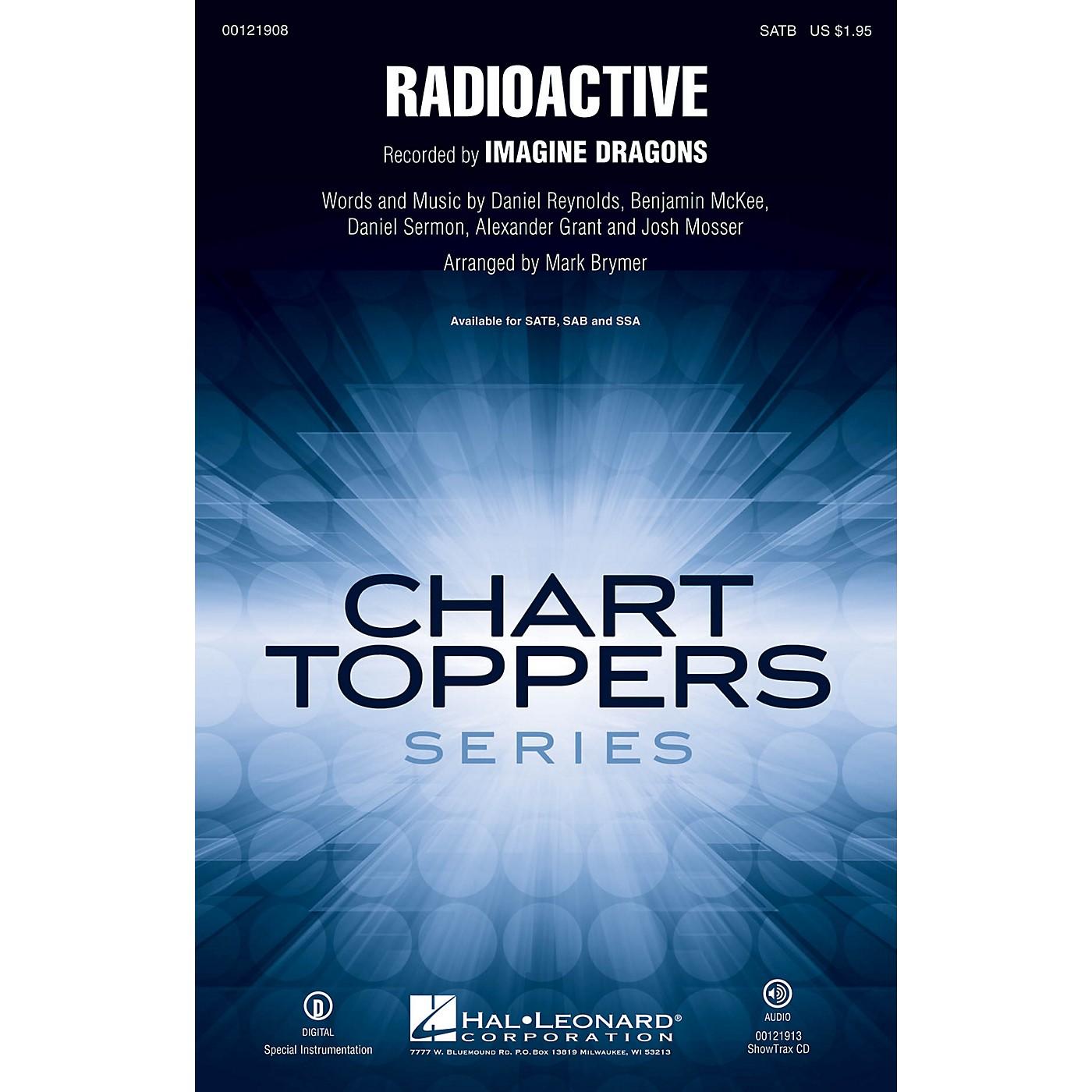 Hal Leonard Radioactive ShowTrax CD by Imagine Dragons Arranged by Mark Brymer thumbnail