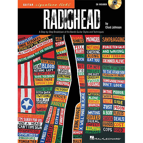 Hal Leonard Radiohead - Guitar Signature Licks - A Step-By-Step Breakdown Book/CD thumbnail